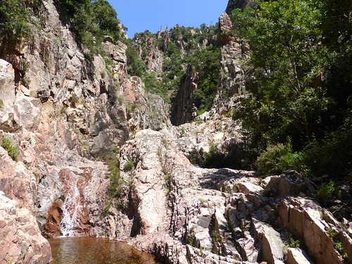 Au-dessus de la 2ème grande cascade de Lora