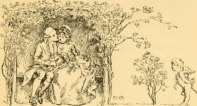 """Image from page 186 of """"The garden of love; flowers gathered from the poets"""" (1912)"""