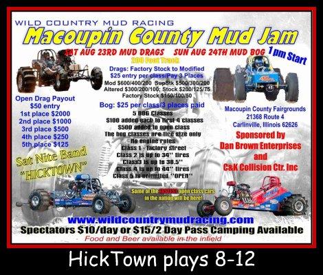 Hicktown 8-23-14, 8-12