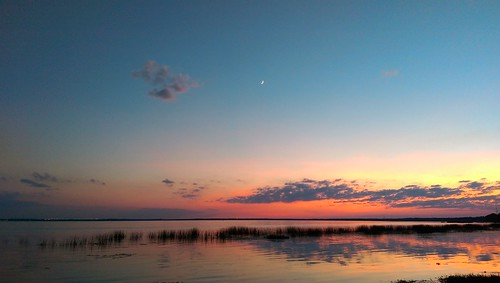 sunset lake water florida lovers lakemonroe thisisnow oneography ilobsterit htconem8
