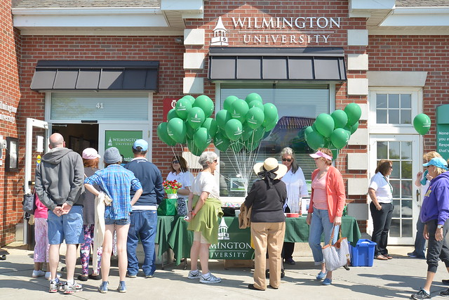The Rehoboth site of Wilmington University celebrated its 15th year with balloons and free refreshments for neighbors and friends at Rehoboth Beach.