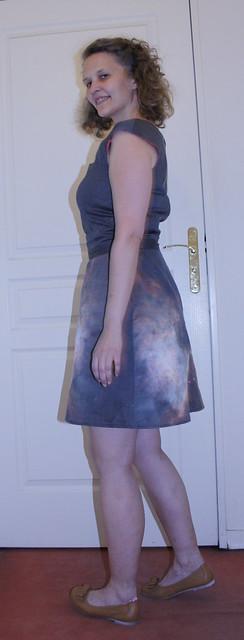 Orion Bar dress - side