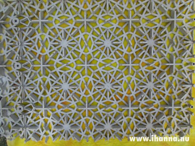Plastic Floor Print