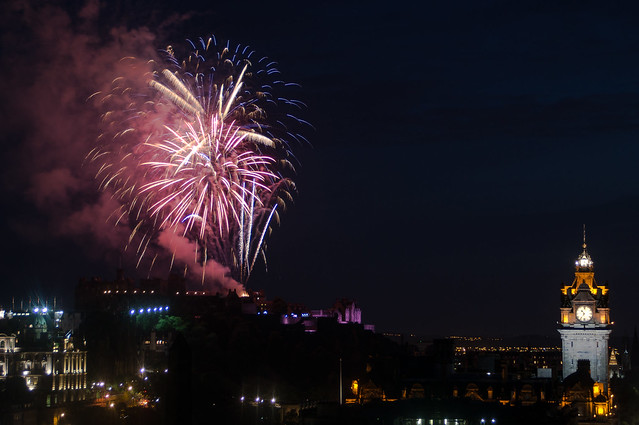 Aug 1st from Calton Hill