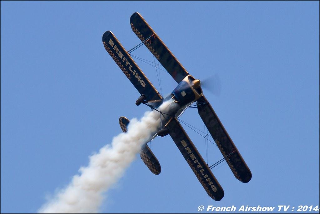 Bücker Breitling Meribel Airshow 2014