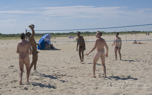 naturist volleyball 0009 Sandy Hook, NJ, USA