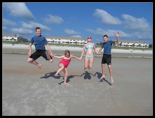 Beach Jump SMILE