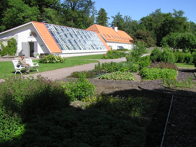 Greenhouse and flover&vegetable garden in Vihula manor