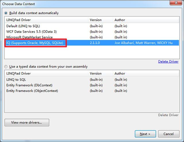 2014-08-03 LINQPad SQLite 04