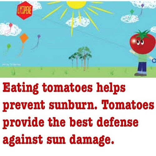 تناول الطماطم يساعد على منع حروق الشمس. الطماطم يوفر أفضل دفاع ضد أضرار أشعة الشمس.  #صحة #وزنك #صحتك #رجيم #رياضة #طبيب #دكتور #دايت #صحه #وزن #جسم #رشاقه #رشاقتي    #leadership #management #health #business #life #kuwait #usa #university #diet #doctor #