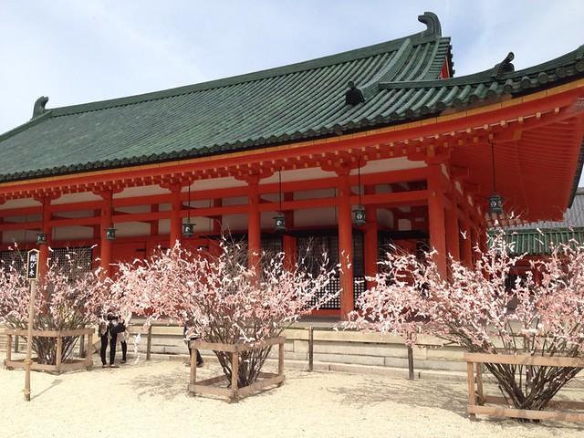 Inside of Heianjingu shrine