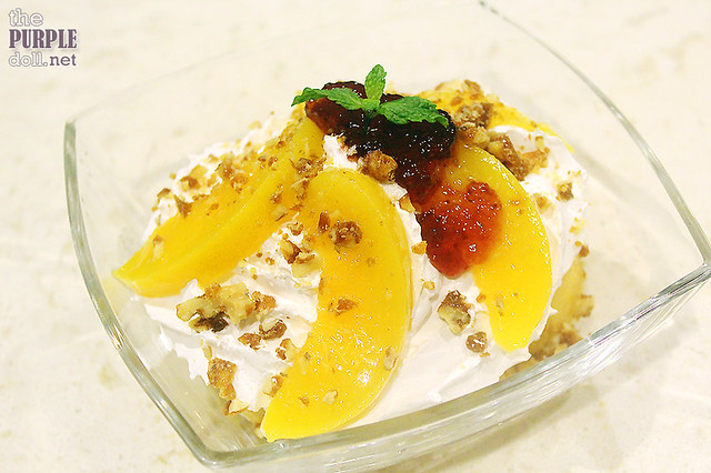 Peach Trifle (P269)