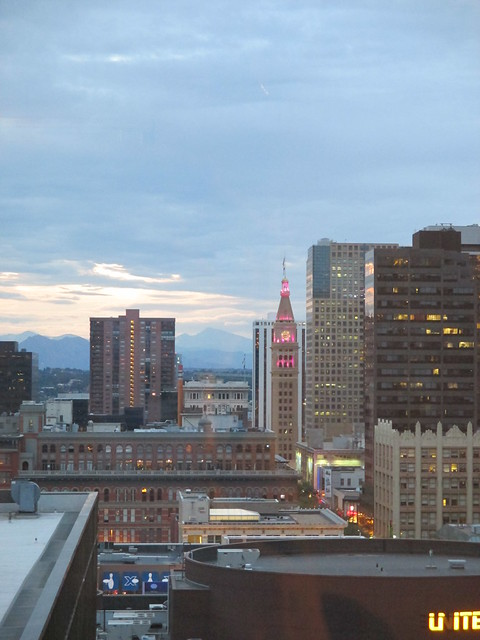 Denver from the cruddy hotel room