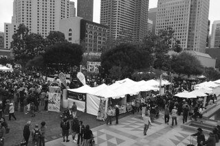 Pistahan 2014 - View of festival area from Yerba Buena
