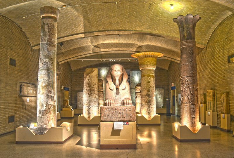 Museum Plans to Restore Ancient Egyptian Throne Room  Museum Plans to...