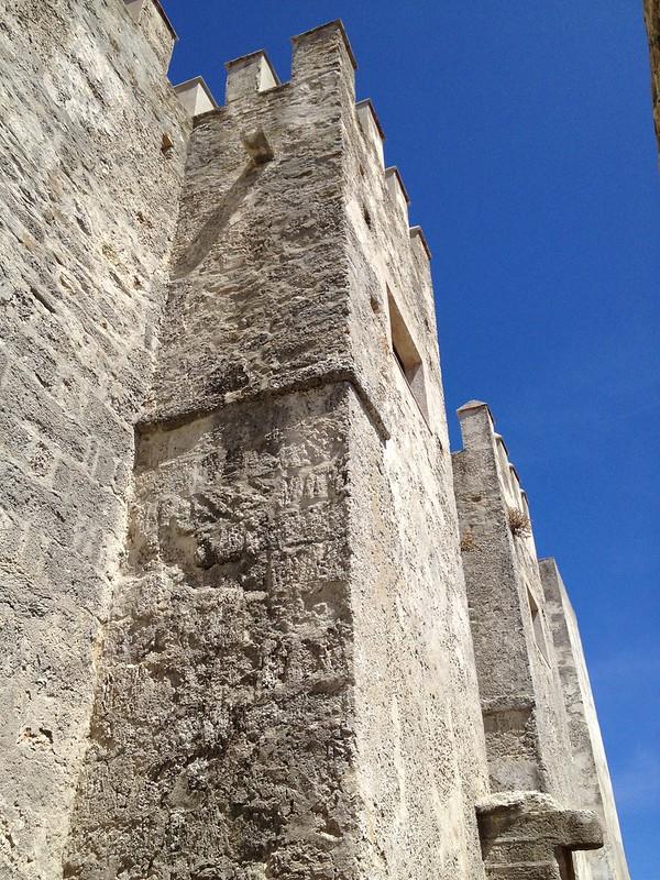 Impressive Castle walls