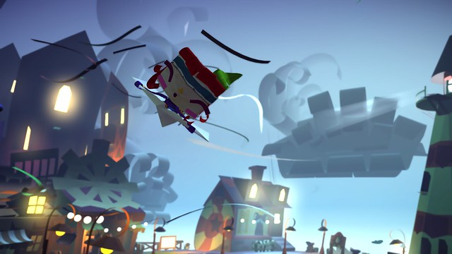 Tearaway at Gamescom 2014