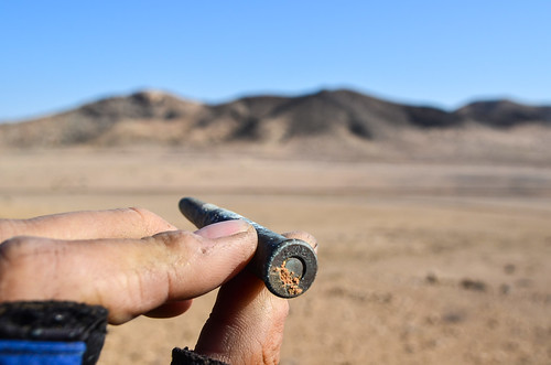 War bullet from the Germans in Namibia