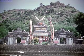 Thoại Ngọc Hầu Mausoleum - Châu Đốc 1973 - Photo by Gene Whitmer
