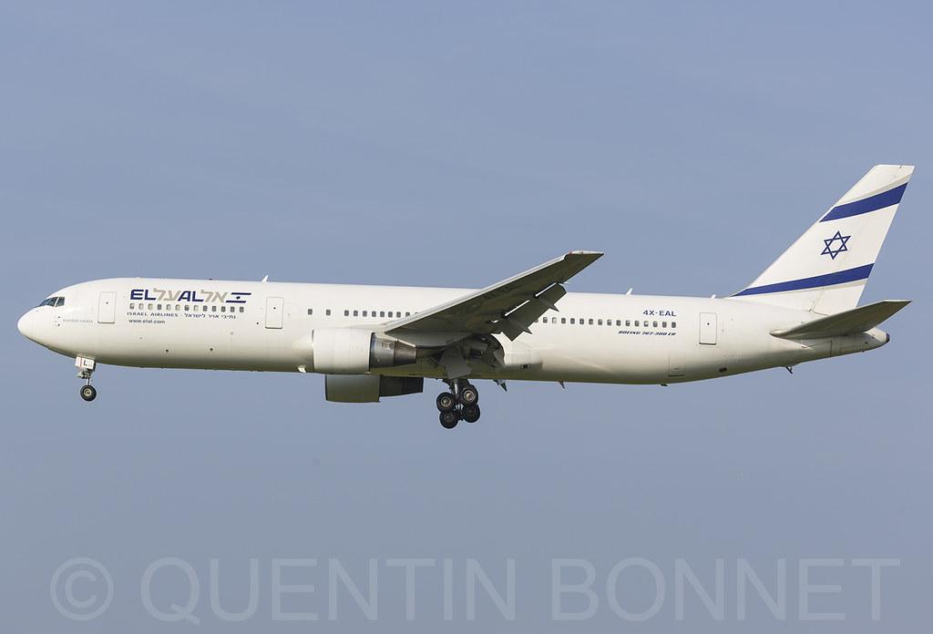 El Al Israel Airlines Boeing 767-33A(ER) 4X-EAL