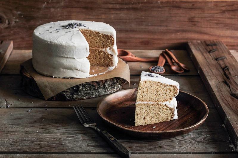 Lavender Vanilla Bean Cake