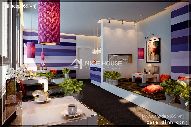 Nội thất quán cafe Định Công - HN_2