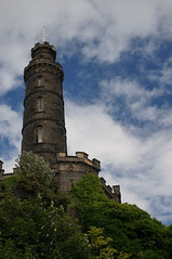 The Nelson Monument, Calton Hill, Edinburgh, Scotland