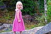 Pink summer dress for Amalie