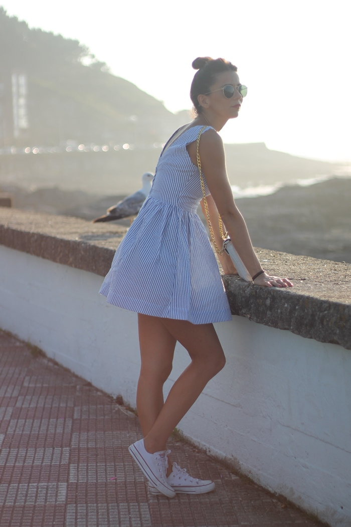 vestido marinero rayas