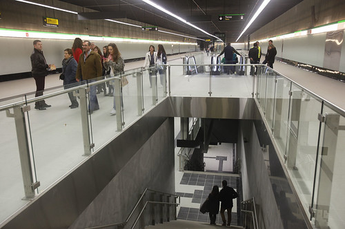 Inaugurado el metro de Málaga, construido y explotado por COMSA EMTE