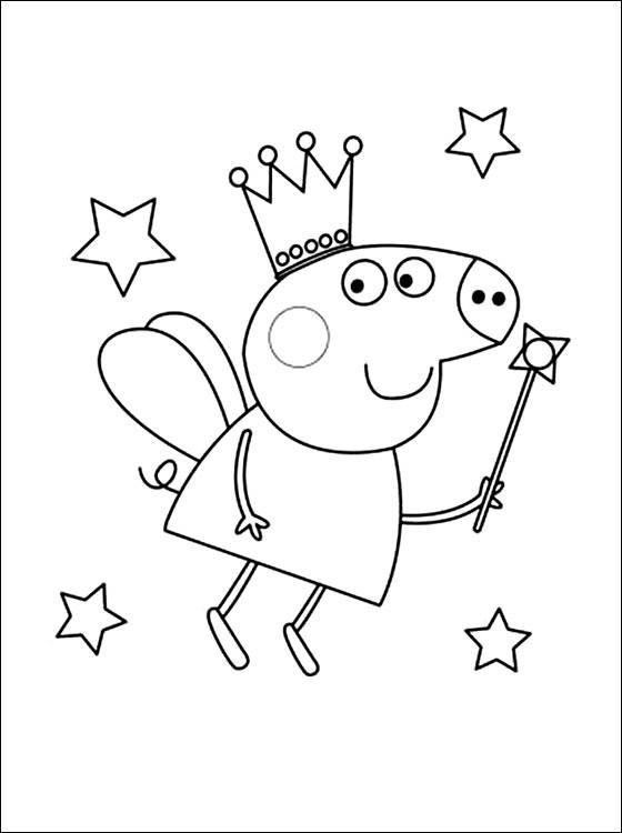 Peppa Pig14 Desenhos Do Peppa Pig Para Colorir Pintar Imprimir