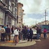 Unlucky on Lucky - another #SF eviction protest in #themission  slowly growing in size.