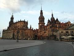 Dresden at Dusk - Germany.