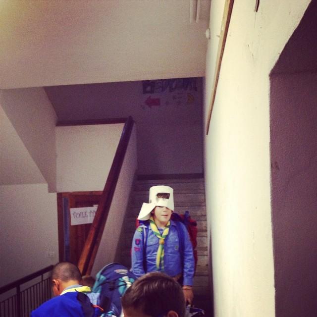 Un cavaliere troll a guardia della tana #valentinacosciani #vdb #fo10 #forli10 #agesci