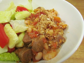 Quick Stove-Top Cassoulet