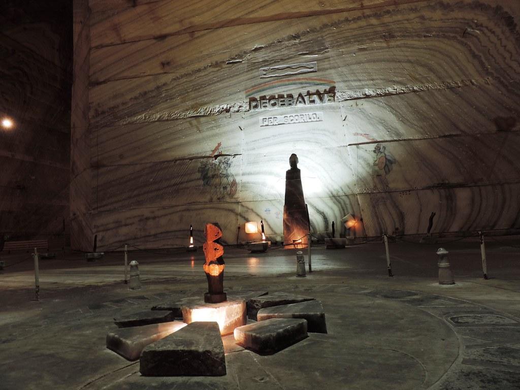 Slănic Salt Mine, 208 m below the ground level