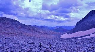 Looking at the Northeast Basin of Gladstone Peak