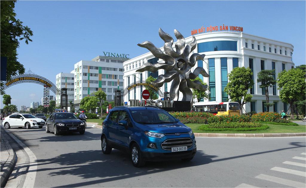 Ford EcoSport khởi hành từ Times City
