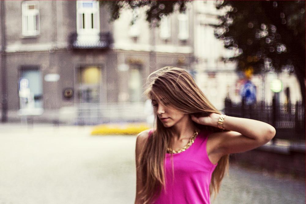 STYLE: Pink dress
