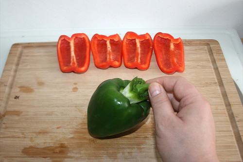 17 - Paprika entkernen / Decore bell pepper