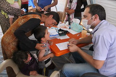 Iraqi Yazidi refugees in Newroz camp receive help from International Rescue Committee