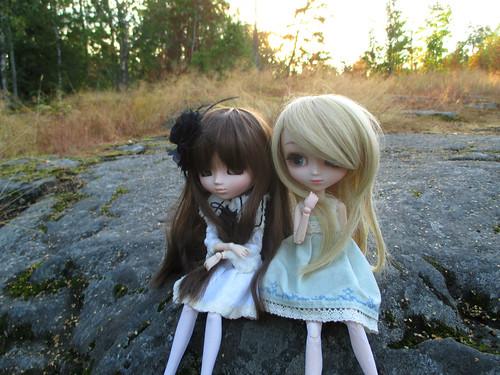 Azure (Souseiseki) & Hime (Io)