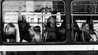Prague streets: faces