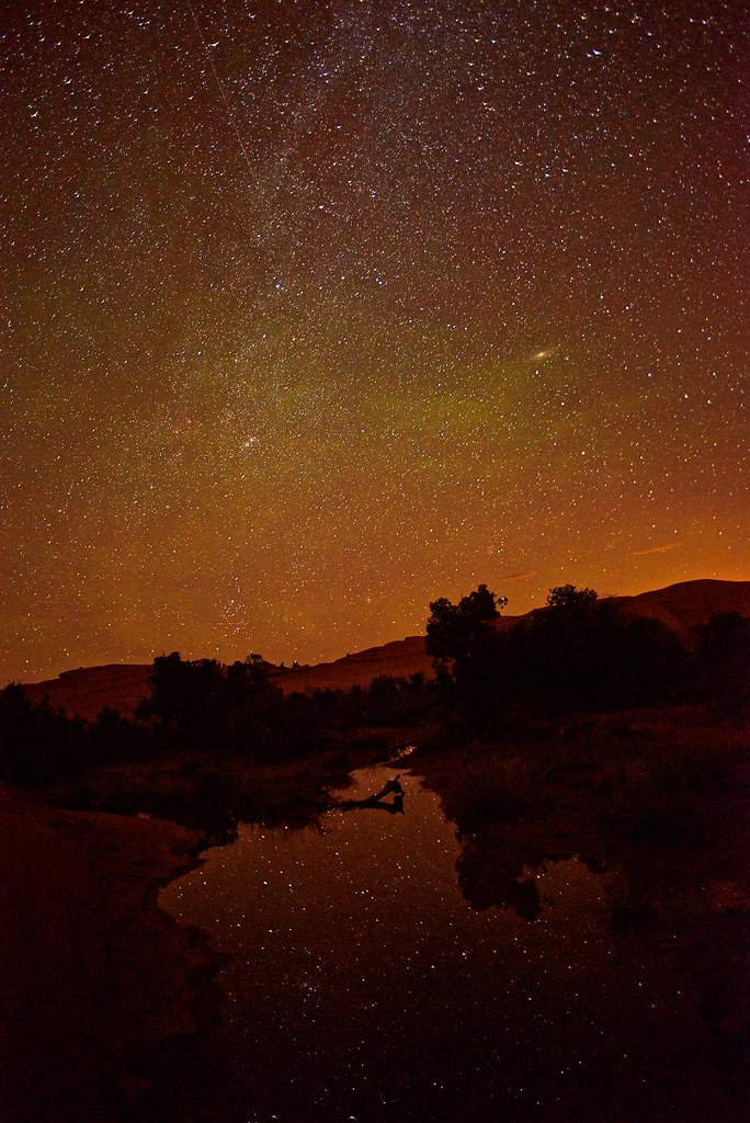 Star reflecting pond - Arches National Park