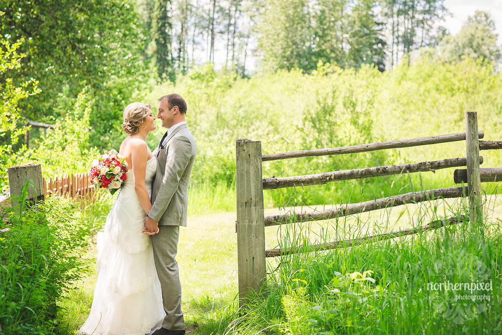 Huble Homestead Wedding Photographer - Northern Pixel Photography Prince George BC