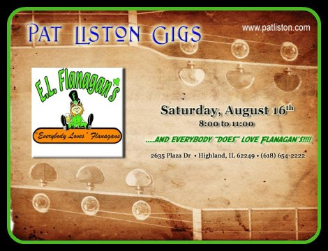 Pat Liston 8-16-14