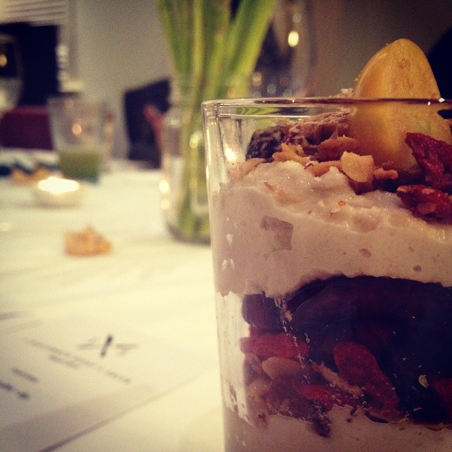 Ending on a high note #shanghaieats #shsupperclub #midsummernightsgreen #parfait
