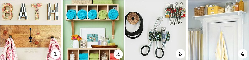 Ideen für kleine Badezimmer