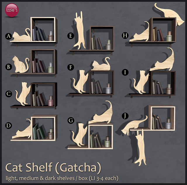 Cat Shelf Gacha