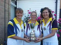 Ladies County Triples Champions 2014
